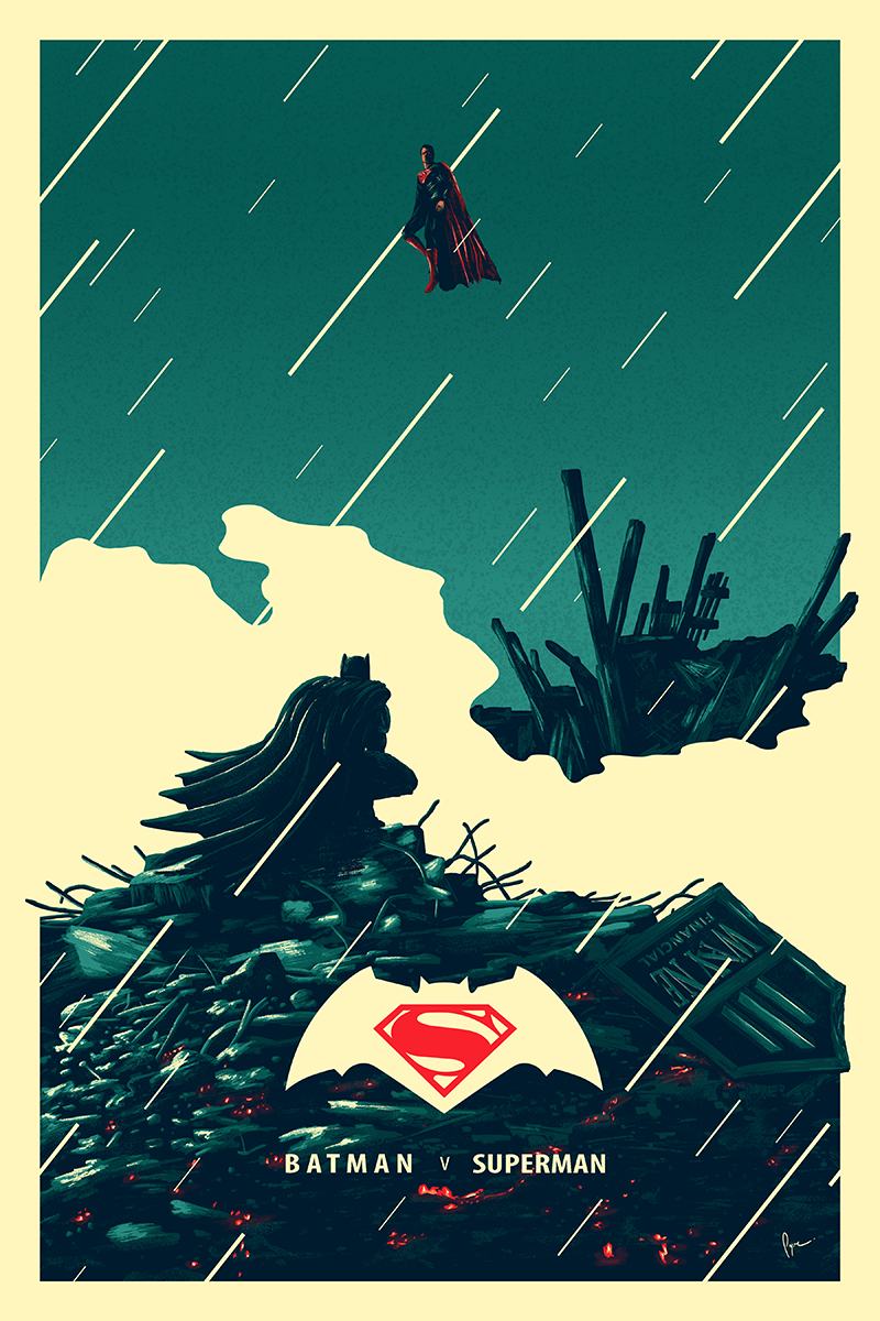 The Art of Derek Payne | Batman V Superman