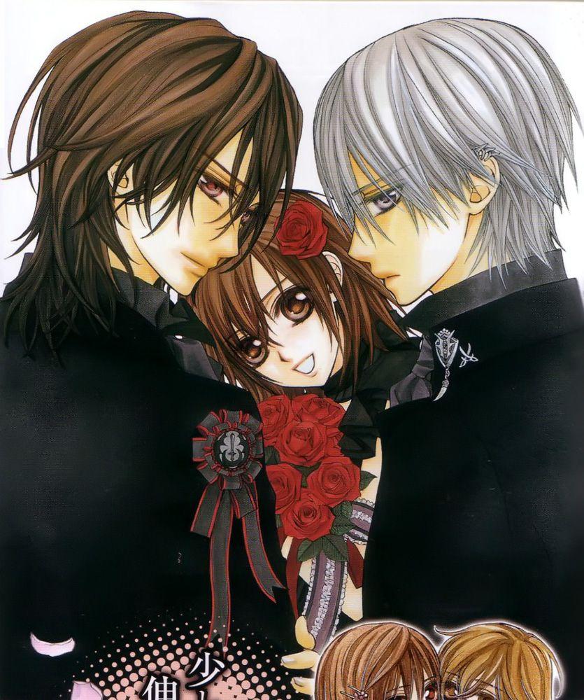 Vampire Knight Zero And Yuki And Kaname Zero Kiryu,Kaname Kura...