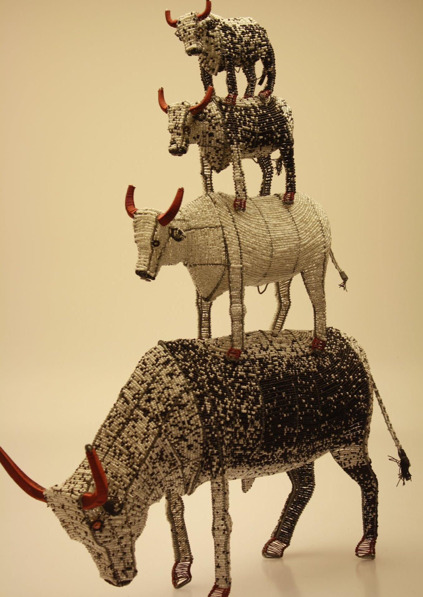 Nguni Cattle Made From Wire And Beads Ezza Will Definitely Be Wiring A House In South Africa Getting These For The New Order Capetown Company Streetwires