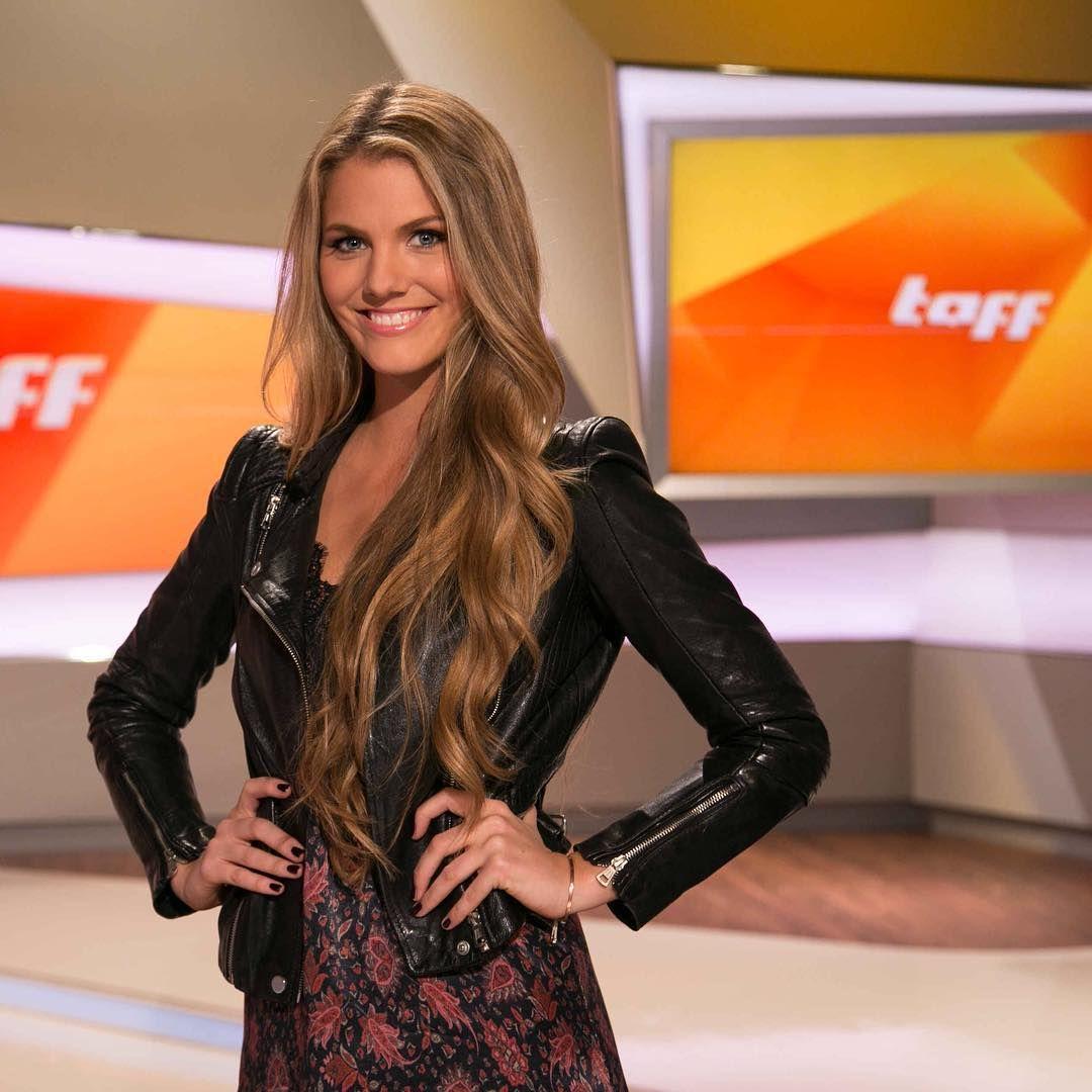 Viviane Geppert, TV host of German celebrity magazines