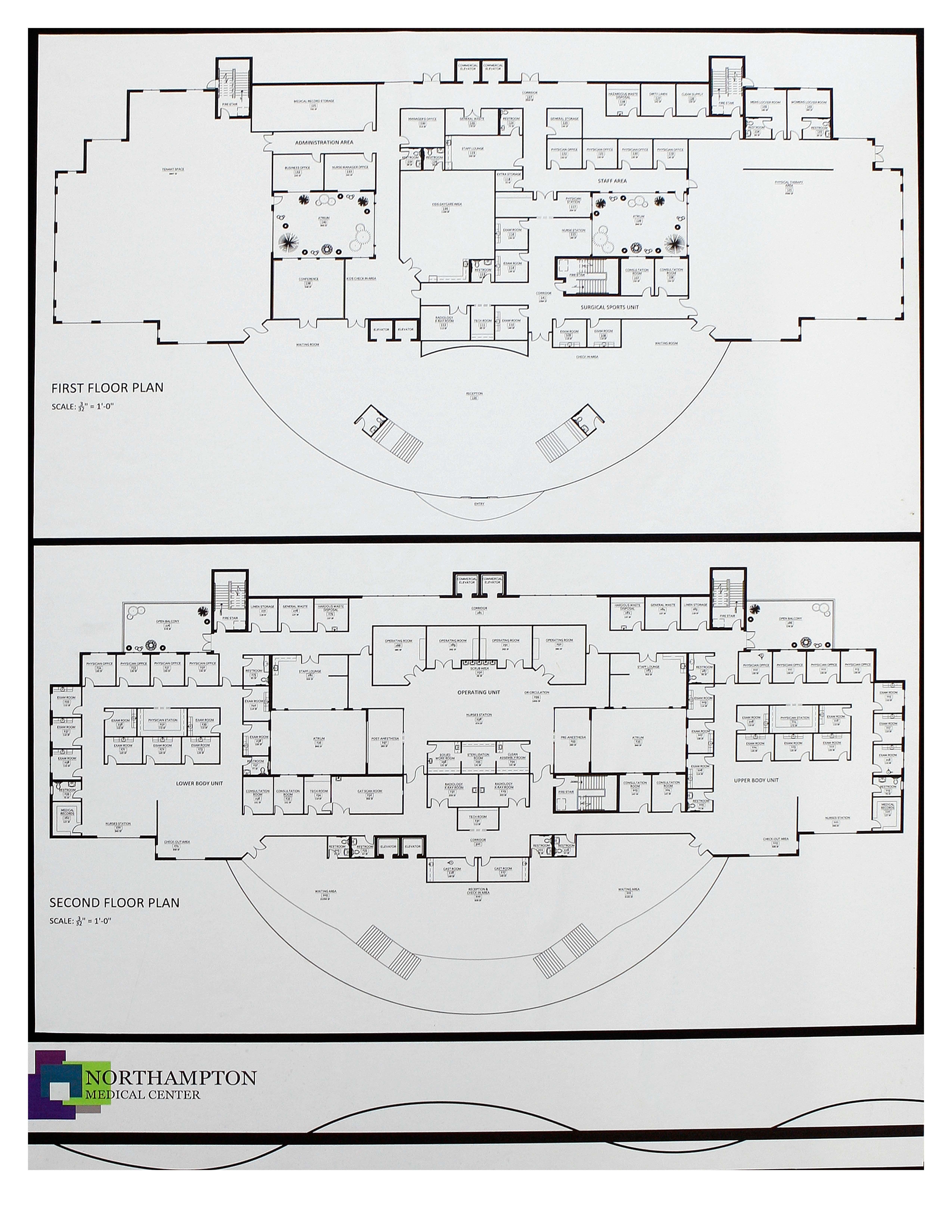 Primary health care floor plan