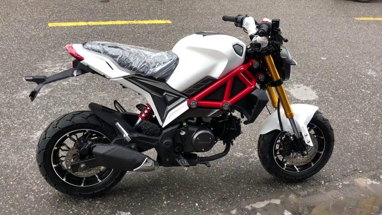 Ducati Monster Mini 110cc 2 New đời Mới Nhất 2019 Lazăng 12 Inch Thể Thao Thiết Kế Sport đặc Biệt Youtube Ducati Monster Mini Monster Mini Bike