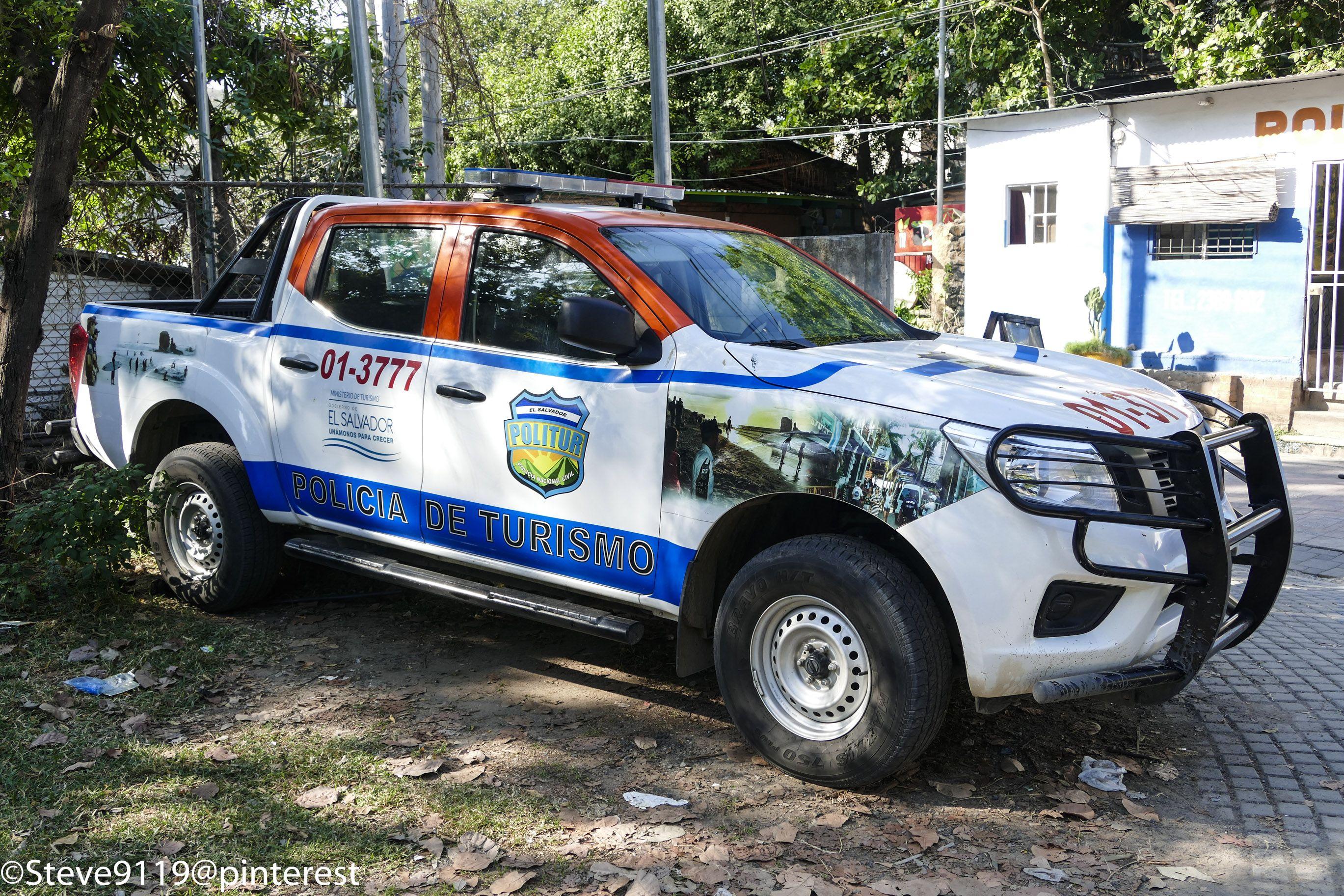 Policia De Turismo El Tunco El Salvador Police Cars Old Police Cars Police