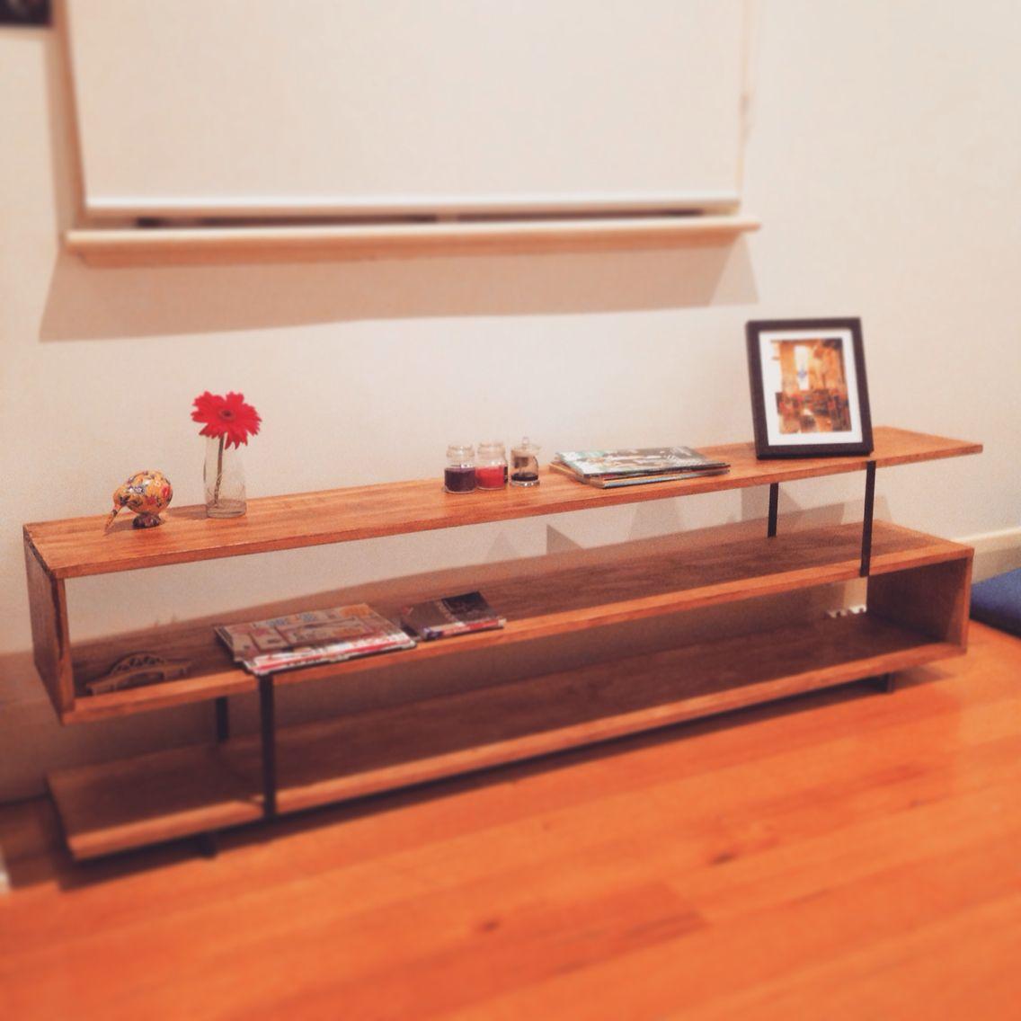 Matt Blatt Erling Low Shelf replica I made  Rustic Mid century modern style. Matt Blatt Erling Low Shelf replica I made  Rustic Mid century