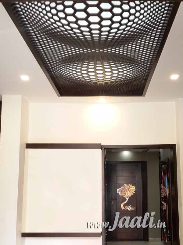 013 18mm Mdf Illusion Design Jaali In The Ceiling Home