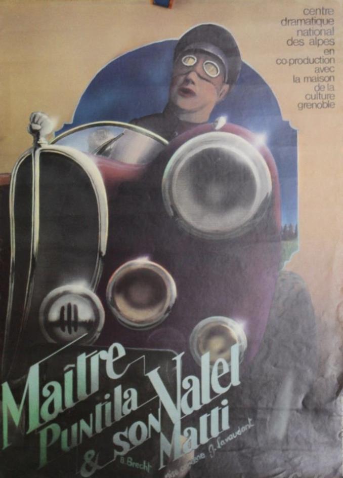 Maison De La Culture De Grenoble Maitre Puntila Et Son Valet Matti 1978 Grenoble Culture Vieux Papiers