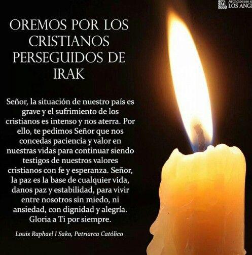 Oración por los cristianos perseguidos en Irak