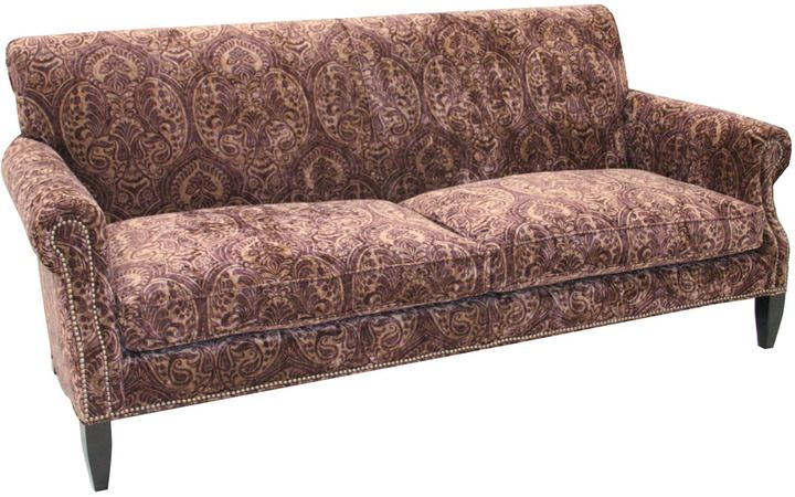 Sensational Old Hickory Tannery Paisley Merlot Sofa Paisley Print In Gmtry Best Dining Table And Chair Ideas Images Gmtryco