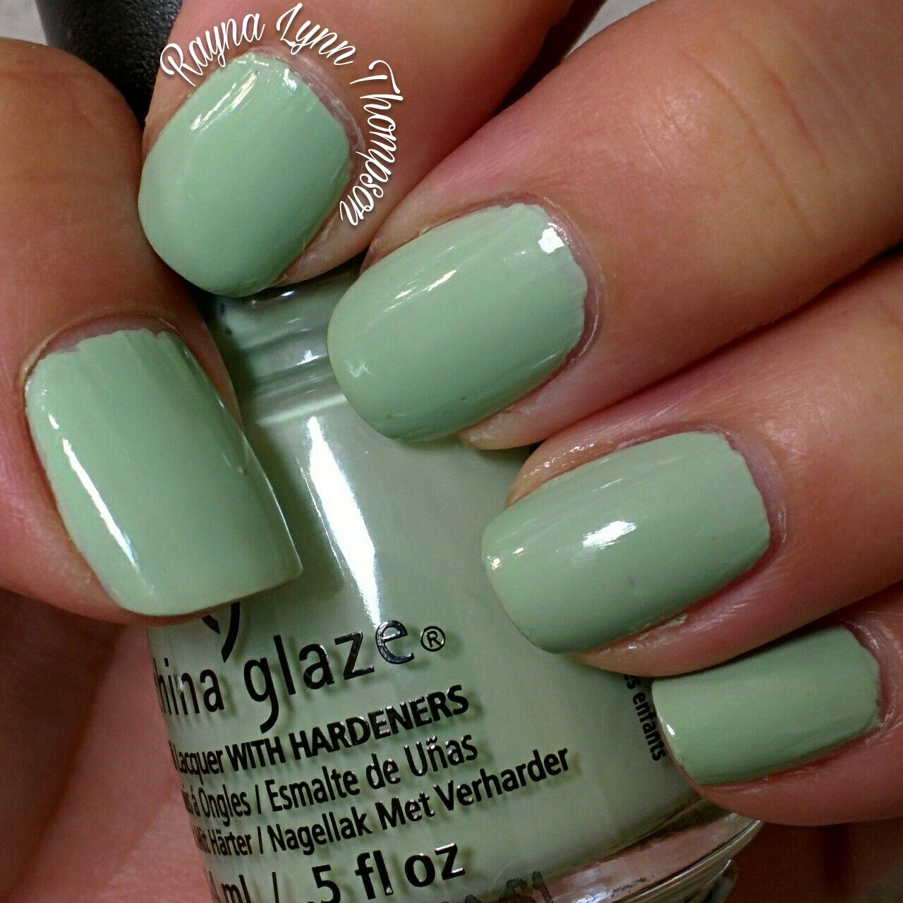 7 Tips For Ocean Chlorine Proofing Your Manicure Nail: China Glaze Spring Jungle For 2018 Pantone Nile Green IG