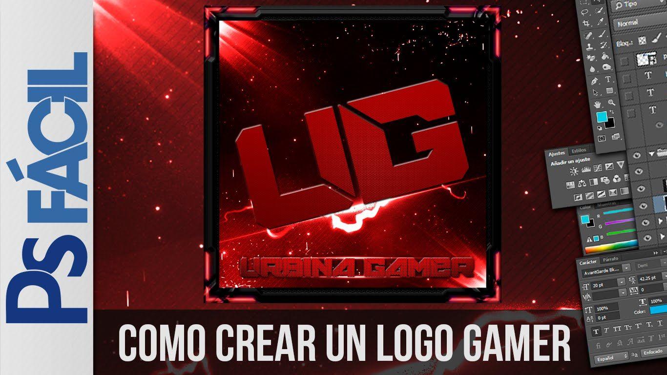 crear logo con photoshop