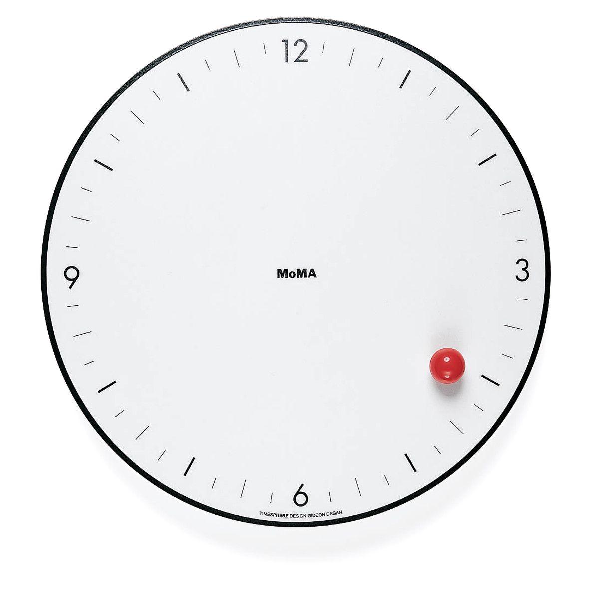 Horloge Murale Timesphere Collection Moma Pinterest