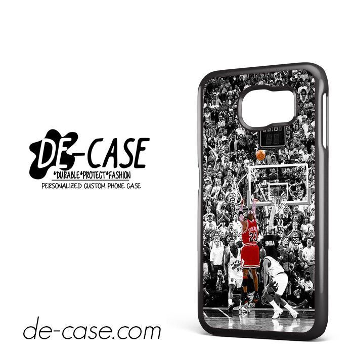 Michael Jordan Last Shoot DEAL-7156 Samsung Phonecase Cover For Samsung Galaxy S6 / S6 Edge / S6 Edge Plus