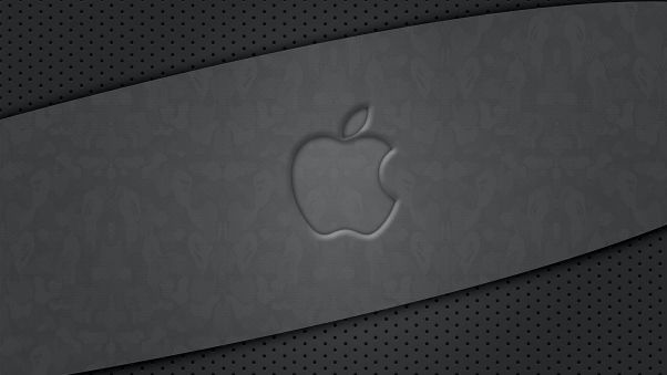 Wallpaper Apple Mac Gray Black Surface Black Star