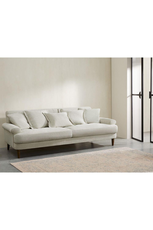 Eraldo 3 Sitzer Sofa Kalkgrau In 2020 Sofa 3 Seater Sofa Furniture