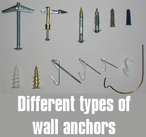 How Do I Repair A Loose Wall Anchor Hole That Has Fallen Out Of Drywall Or Wood Drywall Anchors Wall Anchors Drywall
