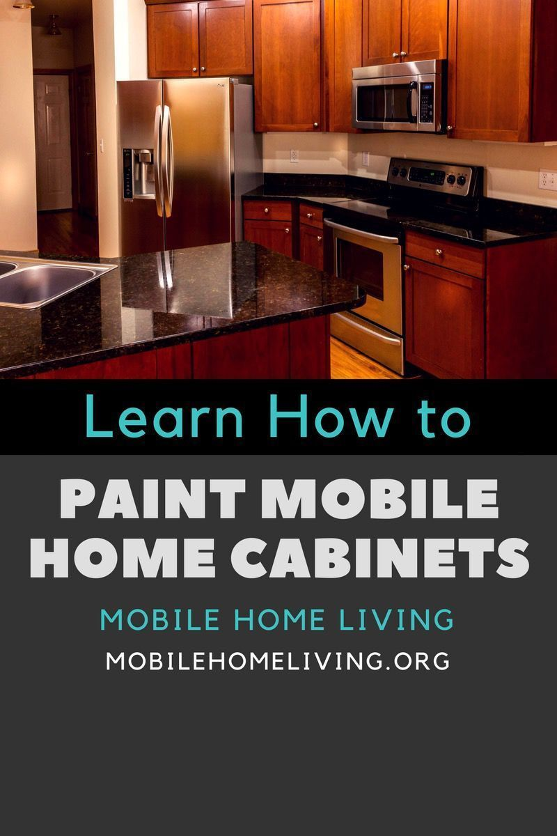 How To Repair And Paint Mobile Home Cabinets The Right Way Mobile Home Mobile Home Living Mobile Home Repair