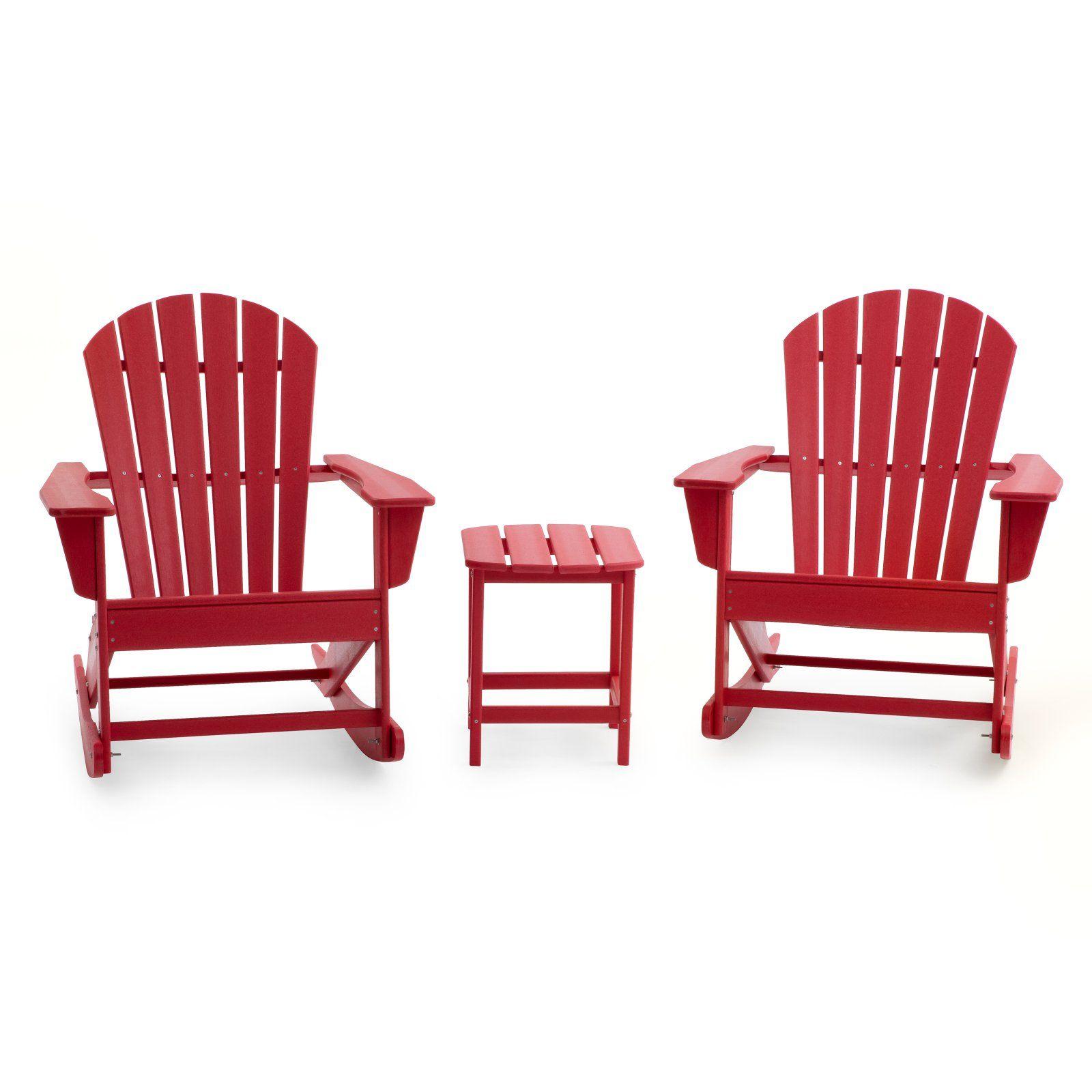 Outdoor Belham Living Belmore Resin Adirondack Rocking Chairs