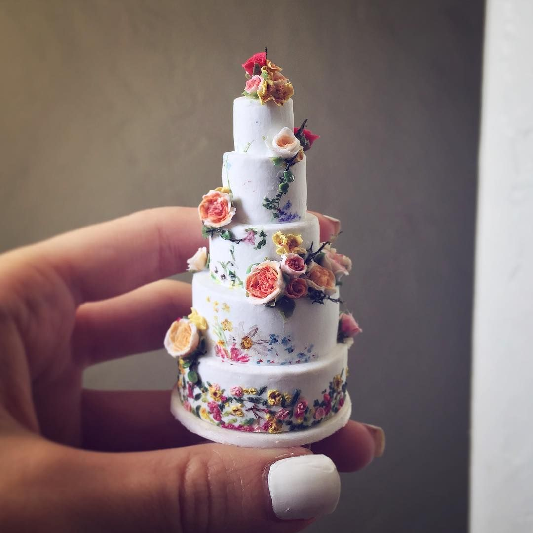 2017.09 Miniature Cake ♡ ♡ By Rachel D.