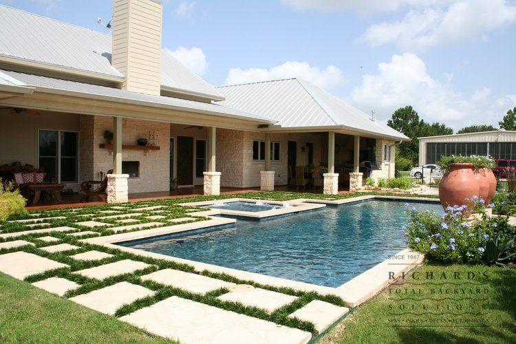 Houston Swimming Pool Gallery » Richards Total Backyard ...