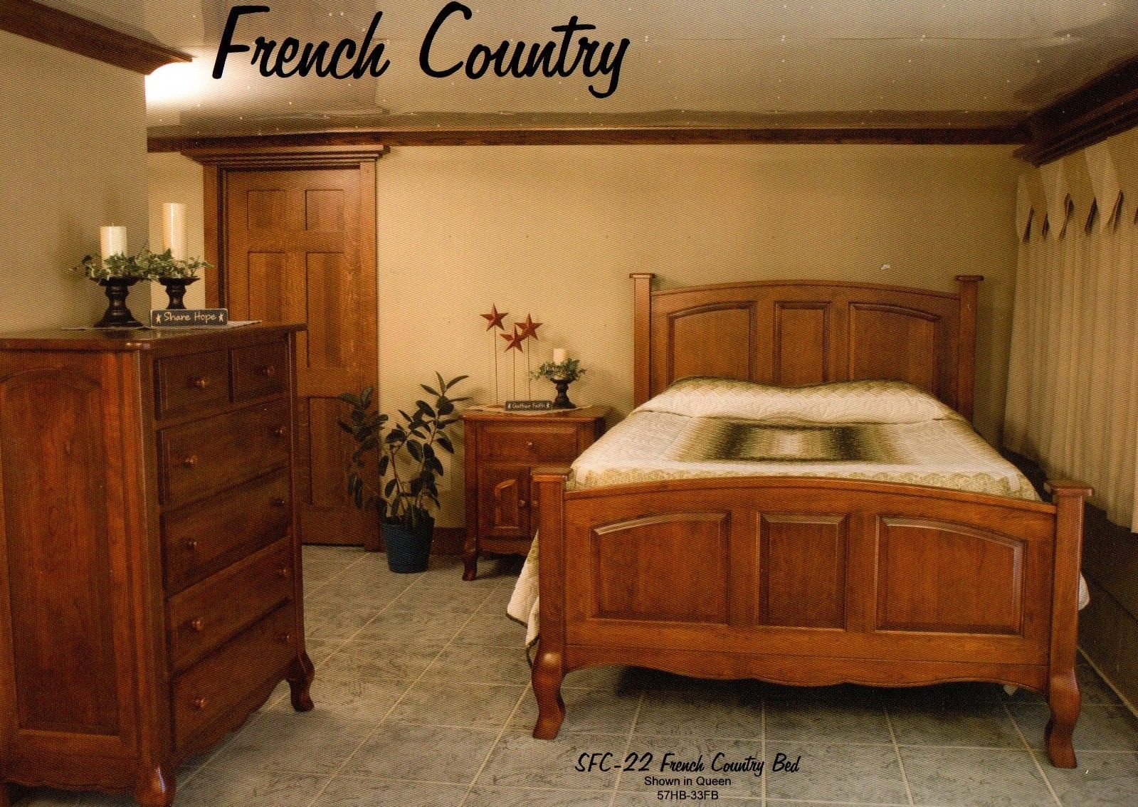 Amish heirlooms furniture · french country