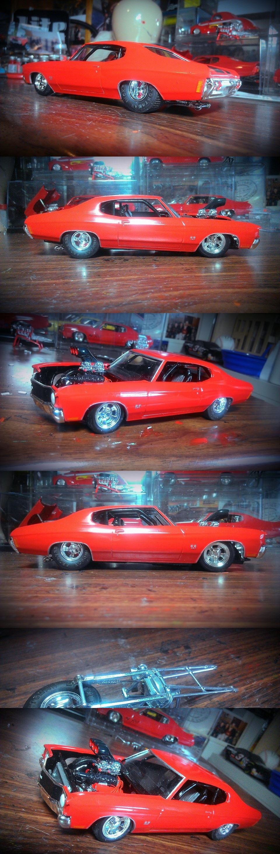 72 Chevelle race car