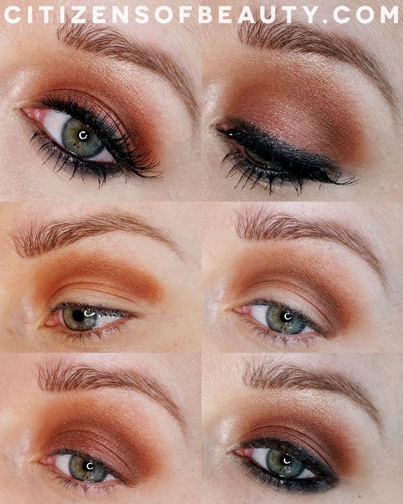 Copper And Bronze Smoky Eye Makeup Look Classic Eye Makeup