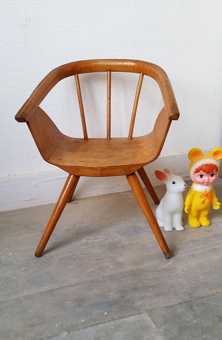 Une petite chaise vintage www.monpetitmeuble.com