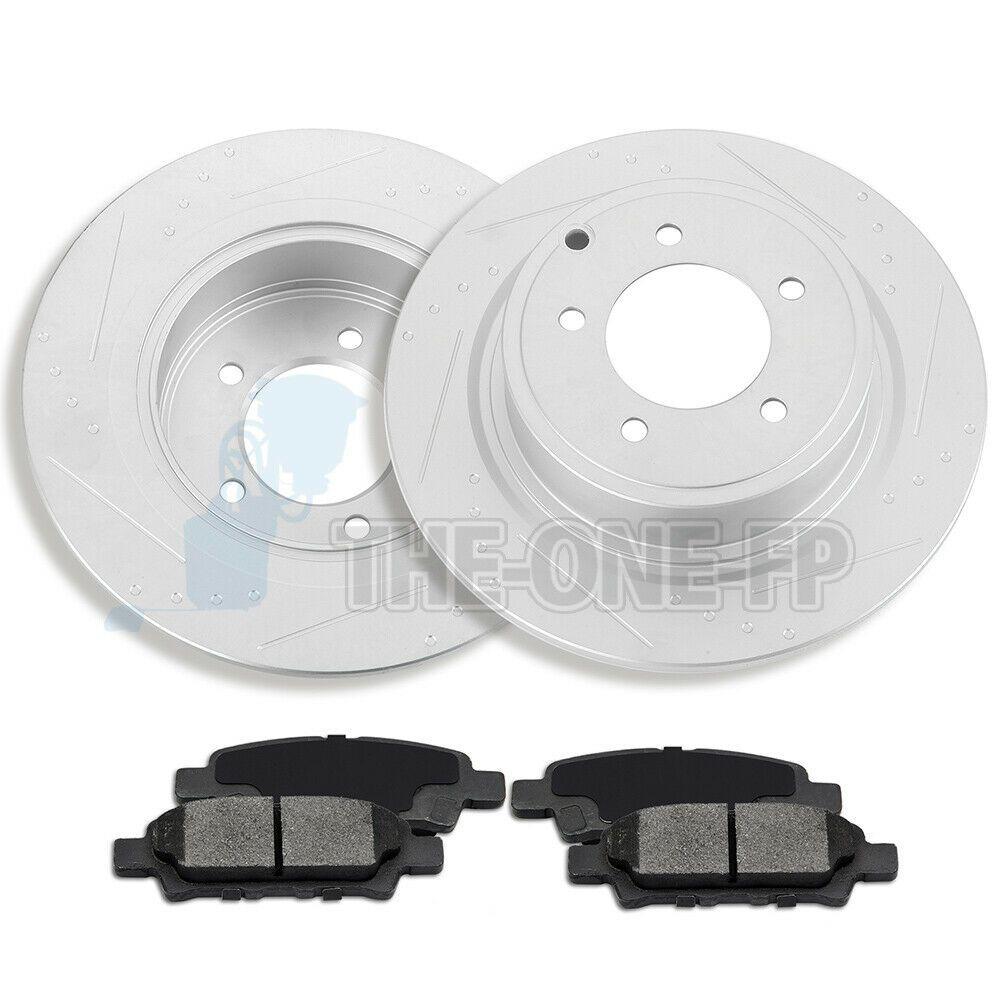 Sponsored Ebay Rear Brake Discs Rotors And Ceramic Pads Fits 2011
