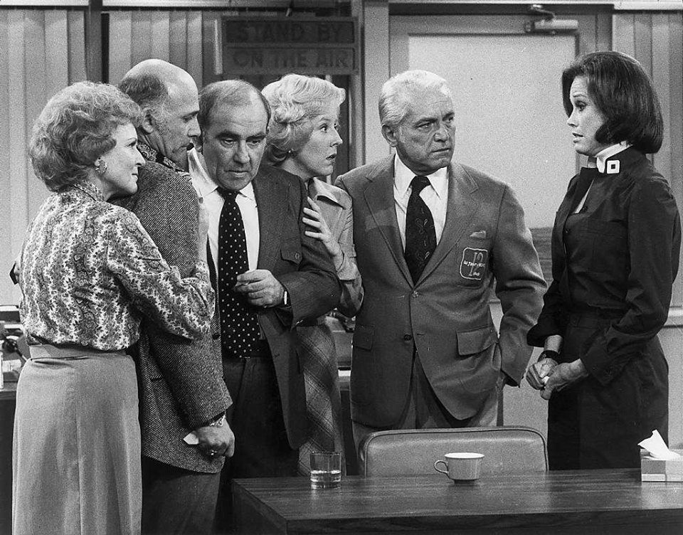 "Group hug! One of the best and brightest sitcoms ever to grace the TV screen-""The Mary Tyler Moore Show""-ended its award-winning seven season run on CBS on this date in 1977."