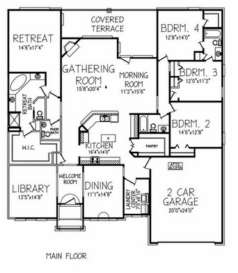 The greystone ii floor plans jeff benton homes for for Greystone homes floor plans