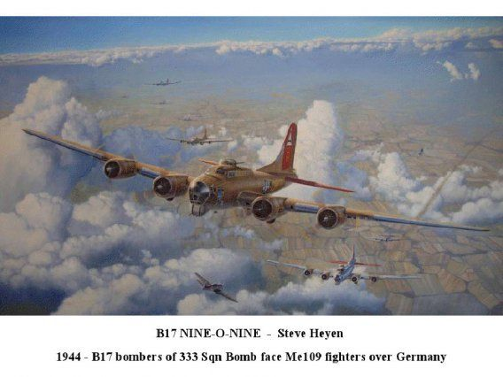 Though American bomber crews each had individual parachutes, sometimes the g-forces in falling planes would pin them inside, unable to ditch.