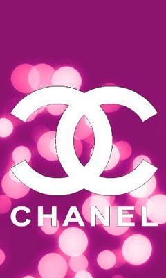 Chanel Pink Bokeh Wallpaper Coco's Logo Pinterest
