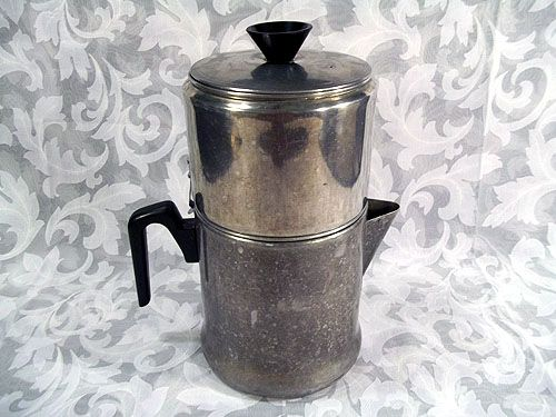 Sold Vintage Drip O Lator 10 Cup Stove Top Coffee Maker Pot 1920s