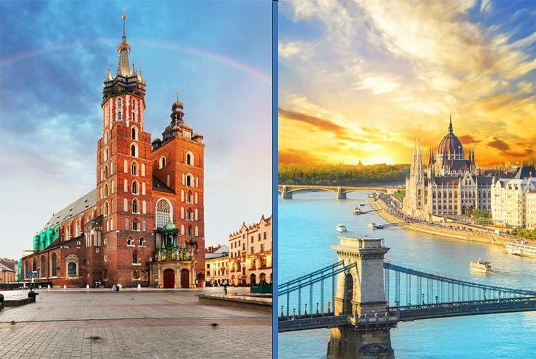 Discount Holidays 4 6nt Budapest Krakow Getaway With Flights