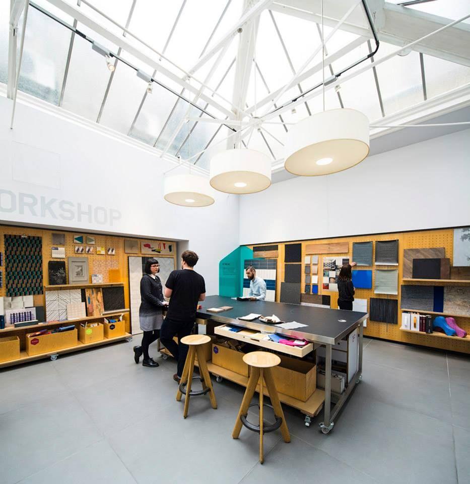 Consultation At Material Lab Design Materials
