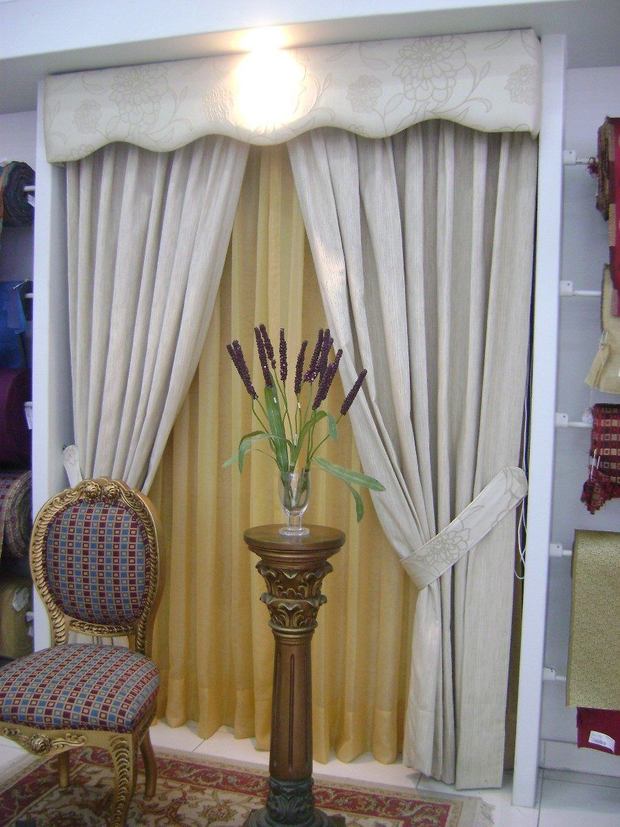 Cenefas elegantes buscar con google cortinas for Cortinas blancas comedor