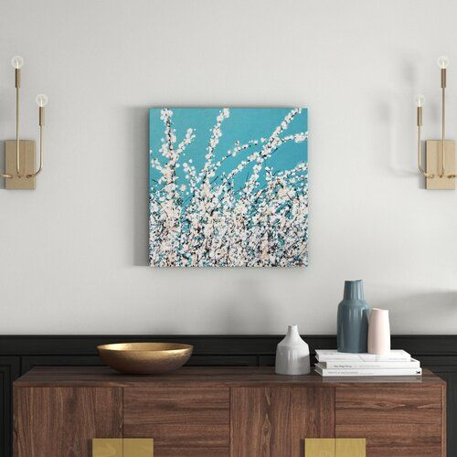 'First Blossom' Painting Print East Urban Home
