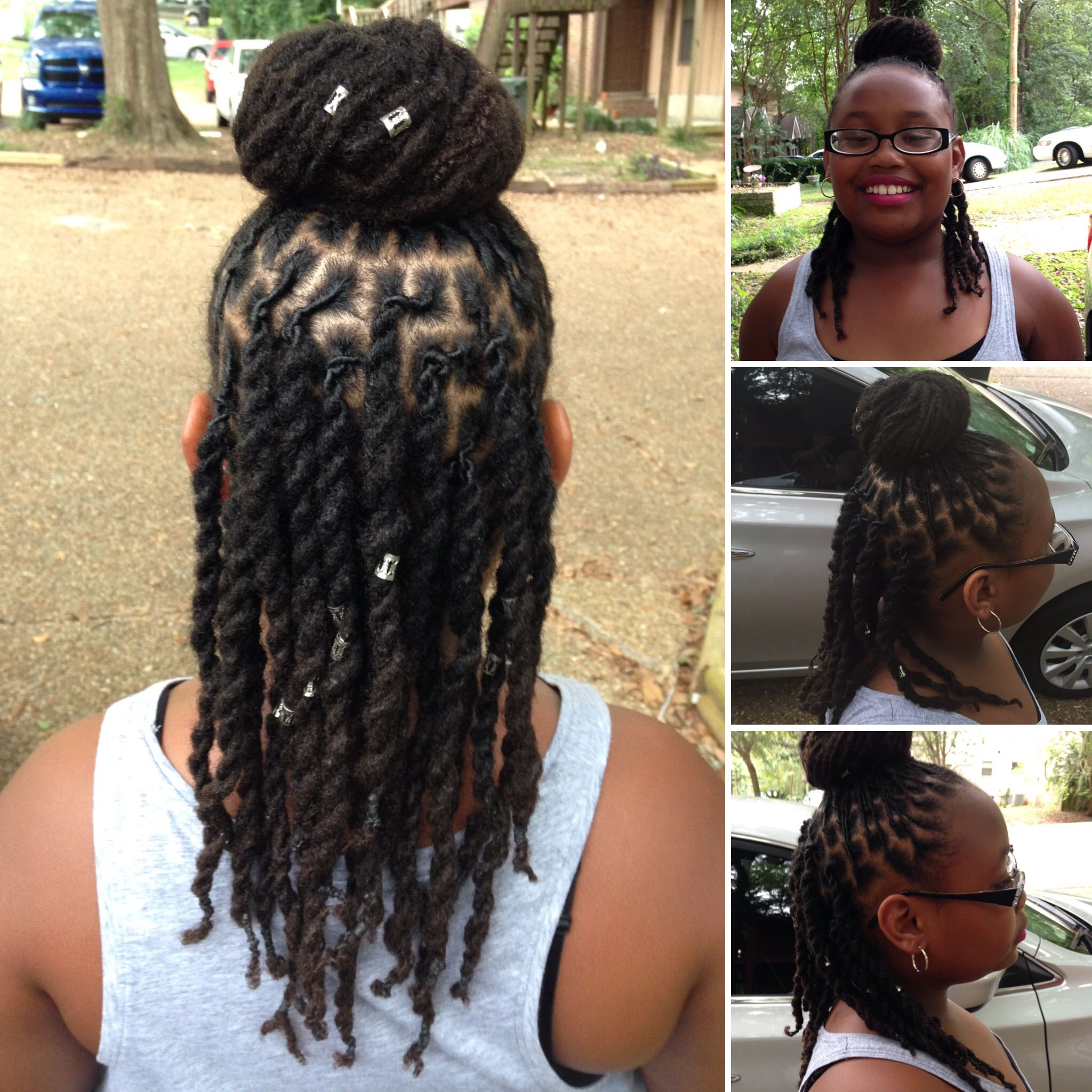 Kids With Locs My Baby At 2 1 2 Years Strong Dread Hairstyles Dreadlock Styles Dreads Girl