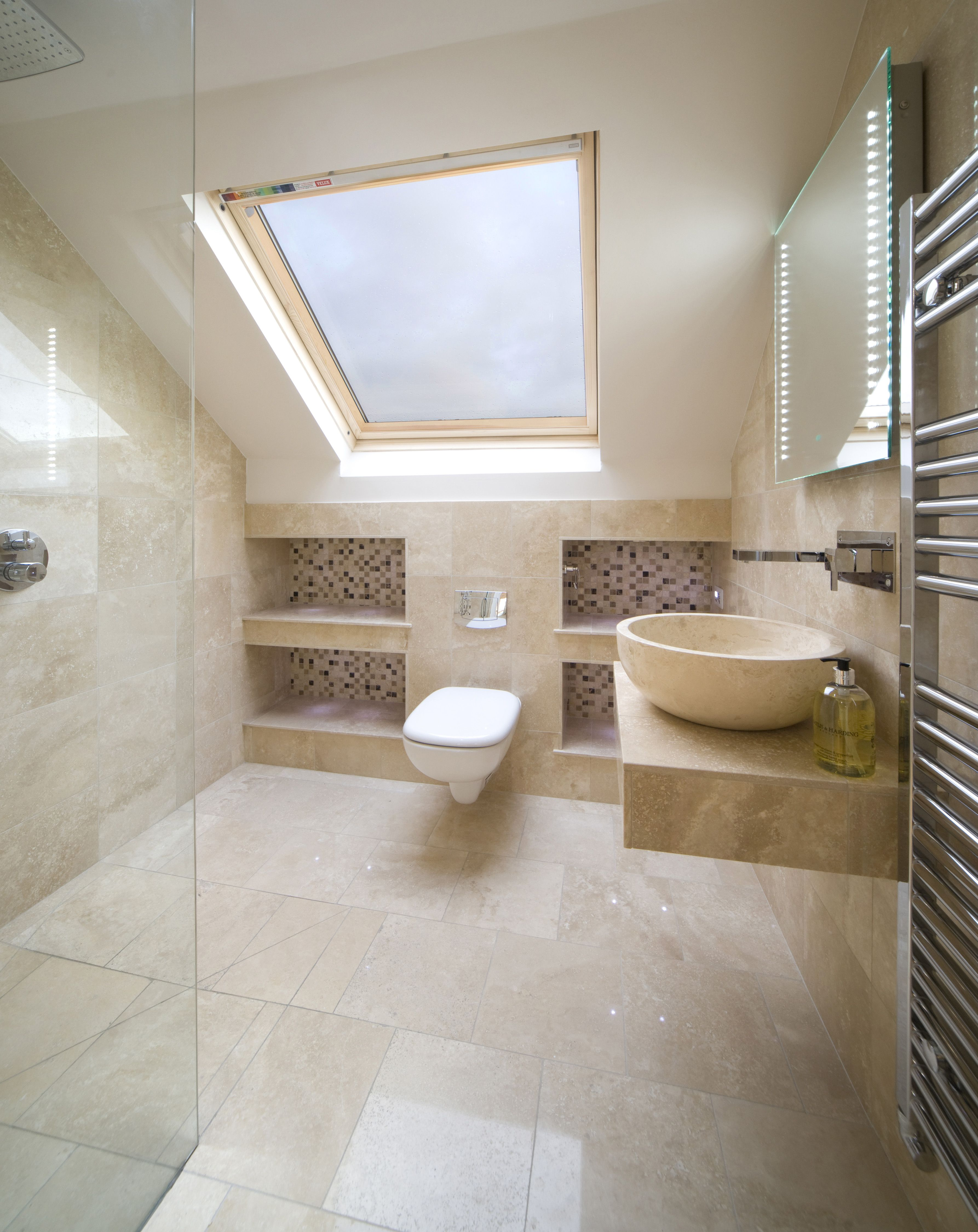 Loft Wetroom With Shelves Ensuite Bathroom Pinterest Lofts Shelves And Loft Bathroom