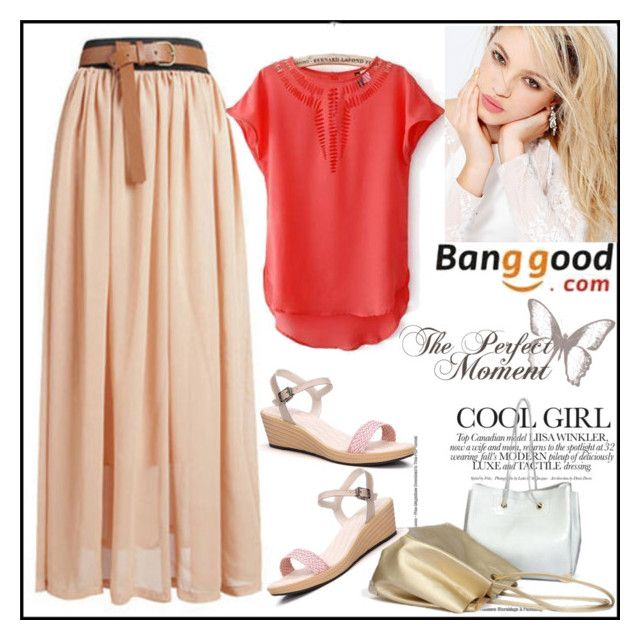 """Banggood 6"" by nejrasehicc ❤ liked on Polyvore featuring Silvana, black, BangGood and fashionset"