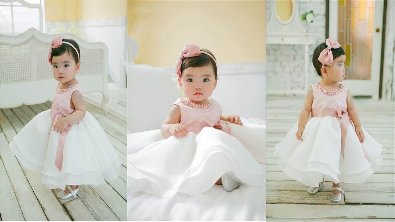 Bead newborn Wedding dress 1 year Birthday dresses ! baby girl ...