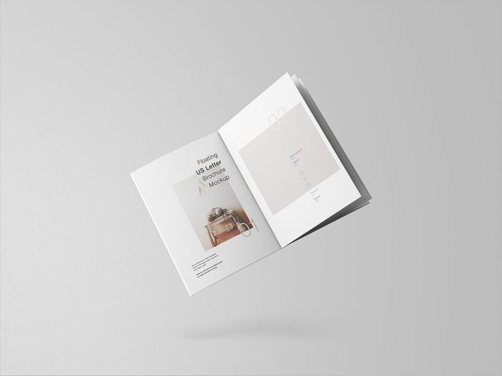 Minimal Floating Brochure Mockup Free Mockup Brochure Mockup Free Magazine Mockup Free Magazine Mockup