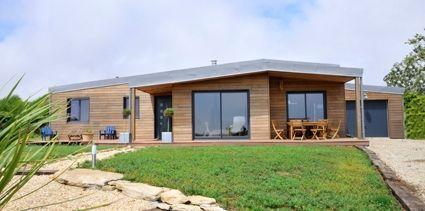 réalisation akabois maison bois plain-pied | construction ...