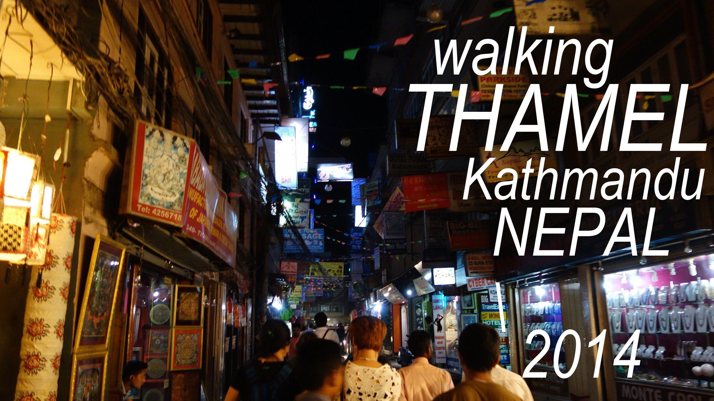 Walking in Thamel at NIGHT  Kathmandu Nepal TODAY | INDIA | Nepal