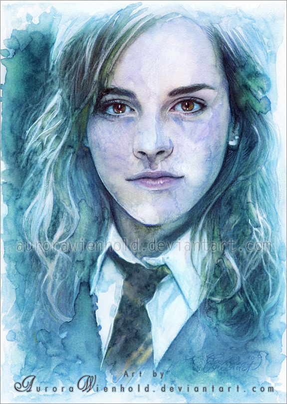 Hermione - Harry Potter By Aurora Wienhold  Artist -8907