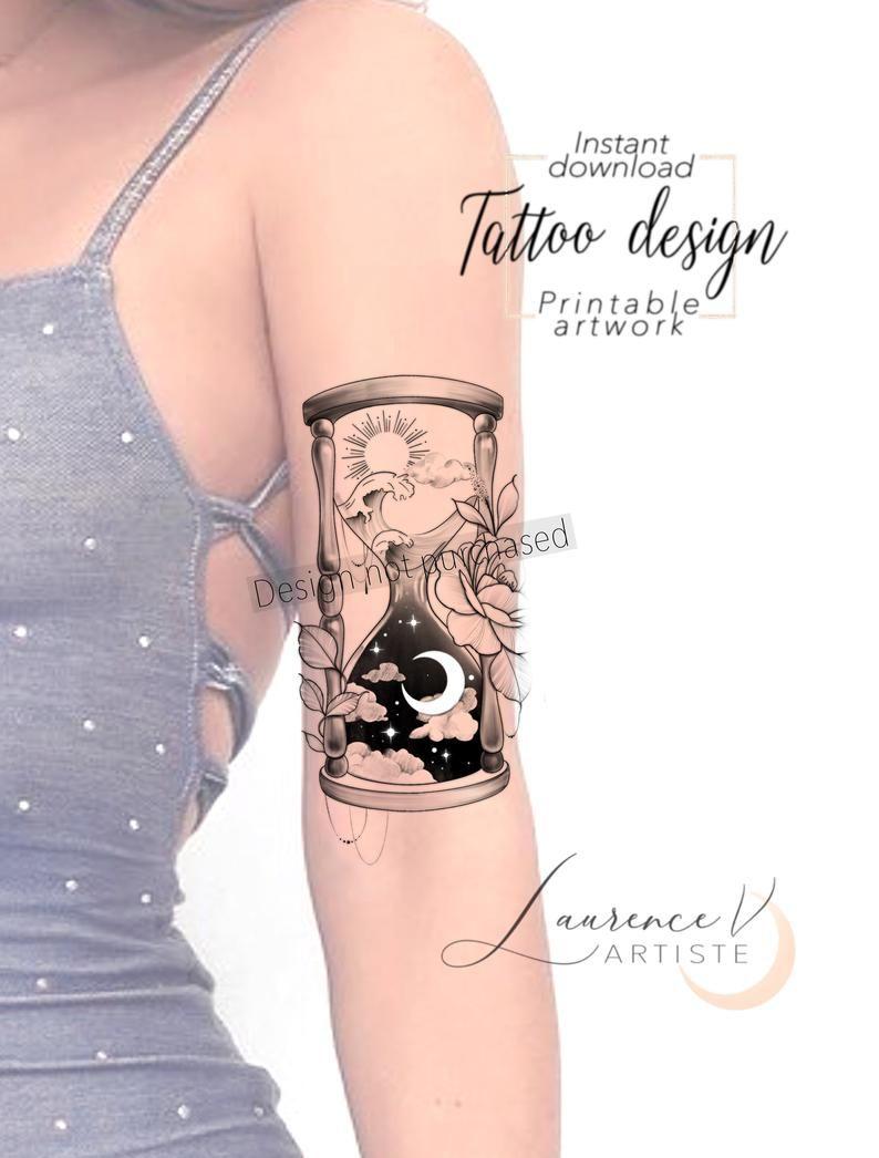 Printable Tattoo Design Instant Download Tattoo Design Etsy In 2020 Tattoo Designs Tattoos Printable Tattoos