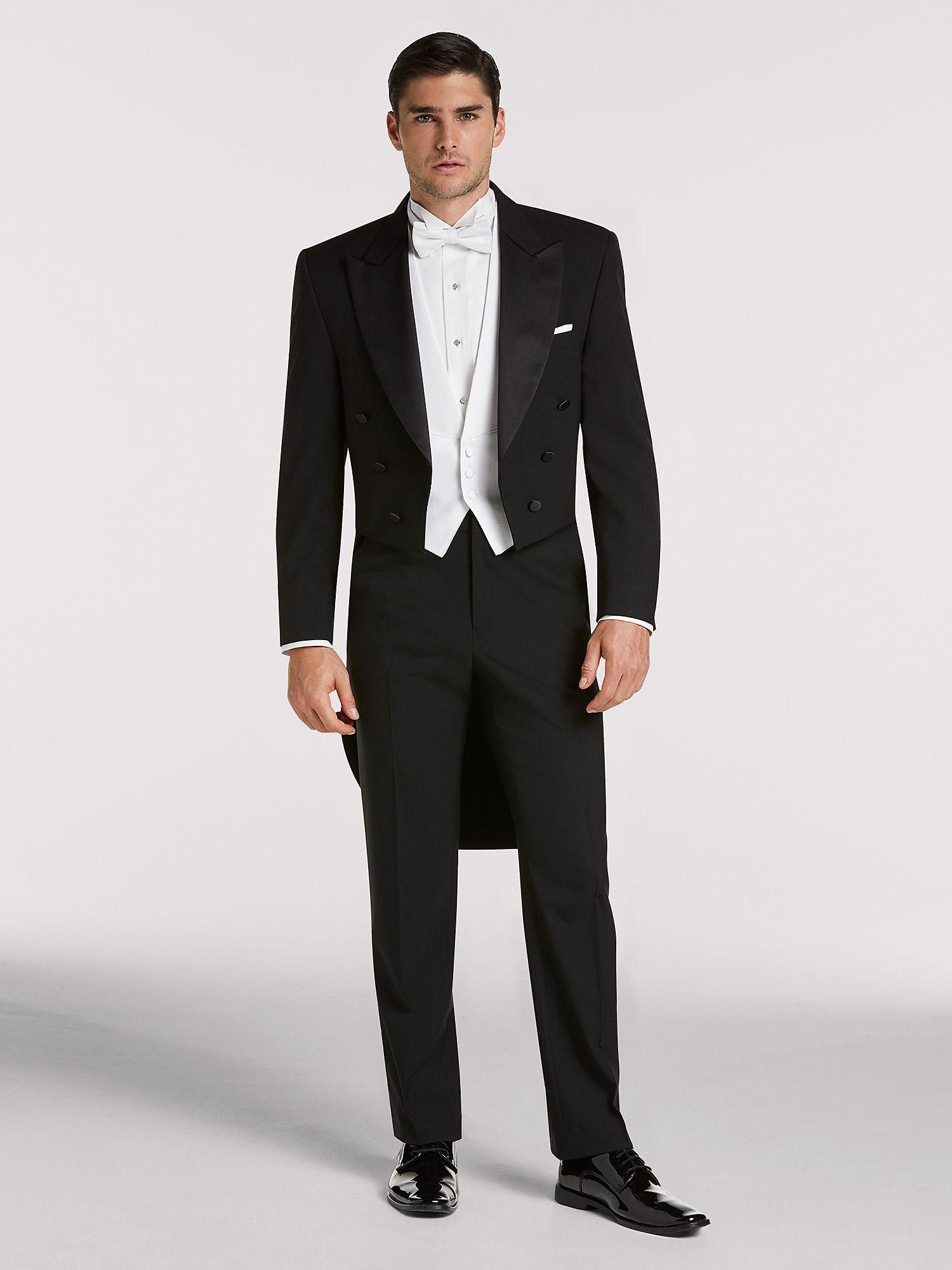 Black Full Dress Tail Tux by Joseph & Feiss Tuxedo