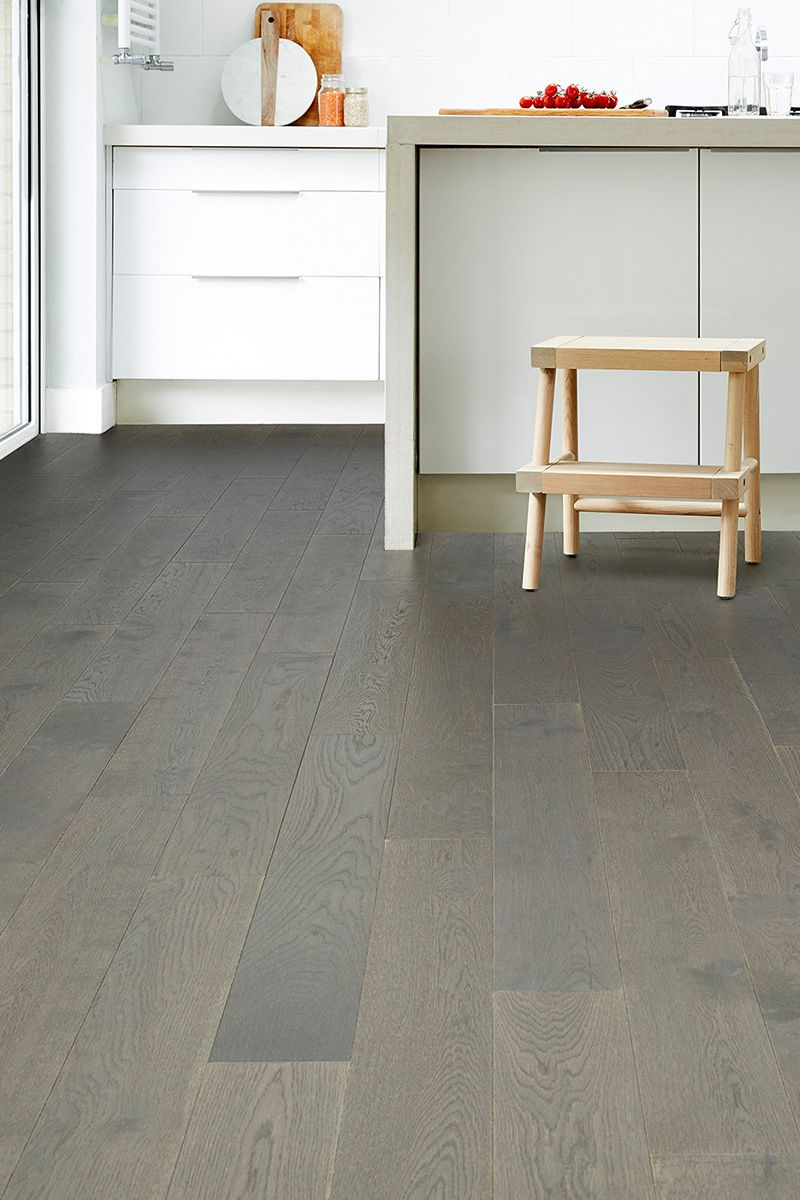 Modern Monochrome Isn T Only About Black And White It Embraces Shades Of Grey Too This Contemporary Minimal Engineered Wood Floors Wood Flooring Uk Flooring
