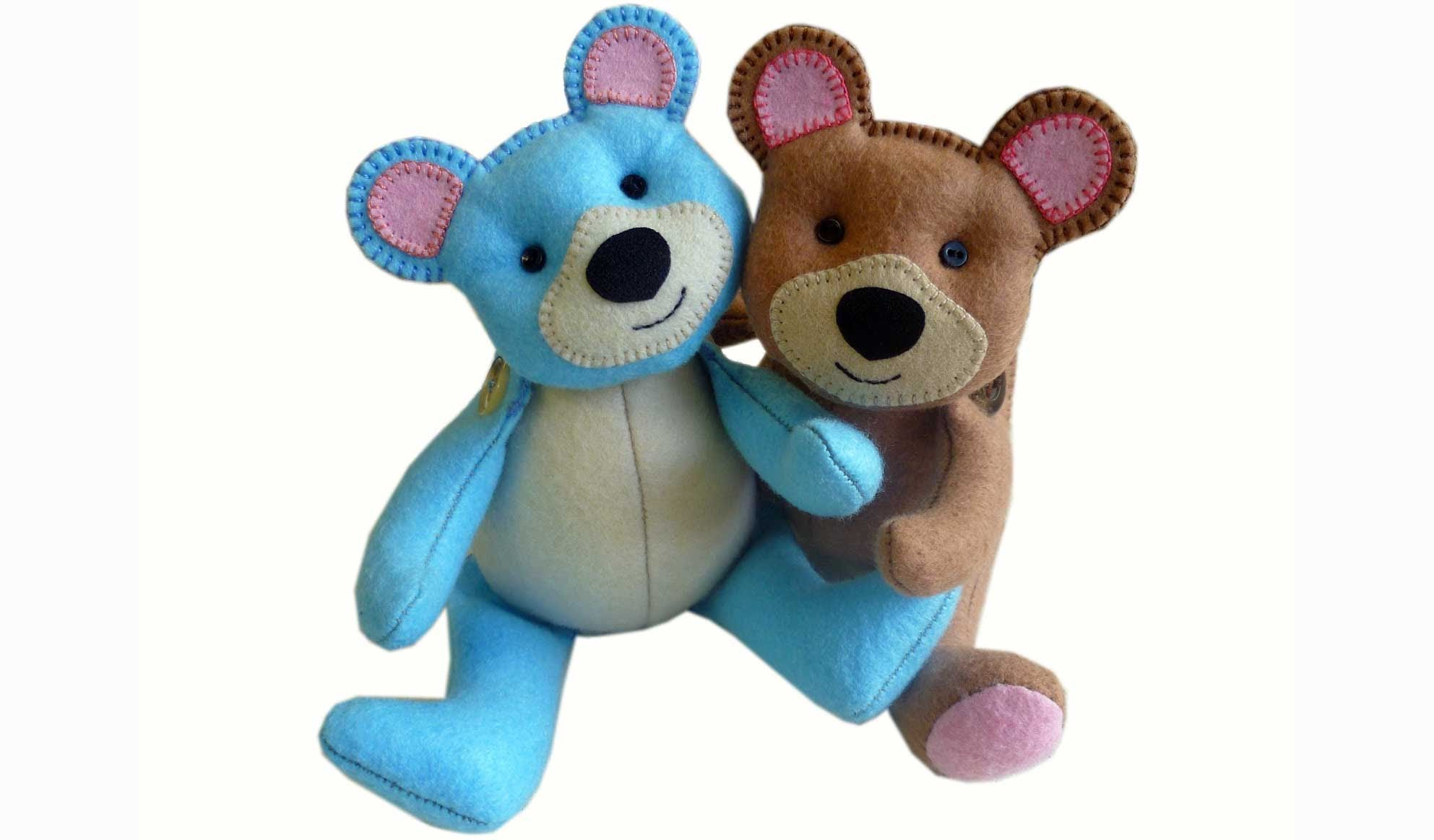 How to make a teddy bear - DOWNLOAD FREE PATTERN HERE http ...