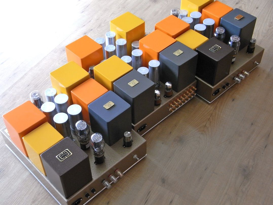 Pin Em Tube Amps By Atelier Du Triode
